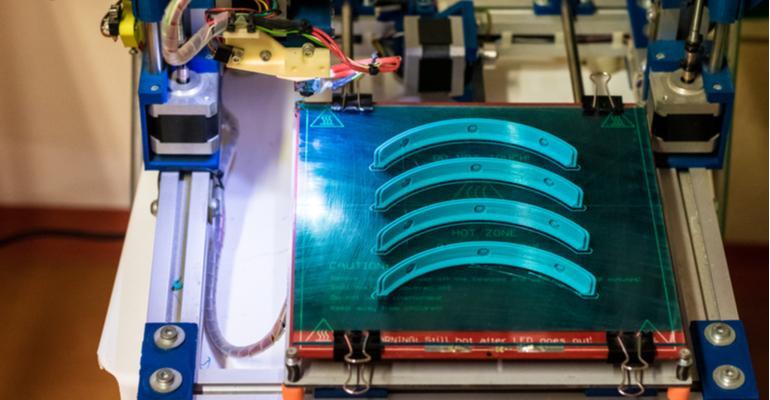 potencial transformador da impressão 3D - impressão 3d de faceshields