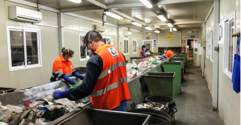 Limpeza e higiene do plástico