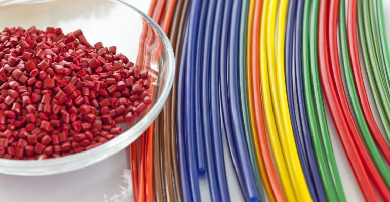 Indústria de plástico - produção