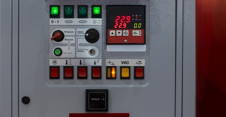 Controle de temperatura industrial