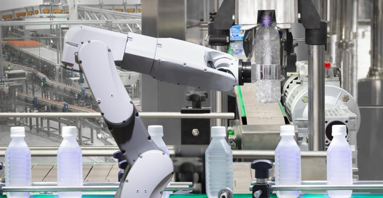 Robótica na indústria do plástico