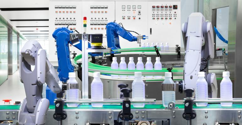 Uso de robôs na indústria do plástico