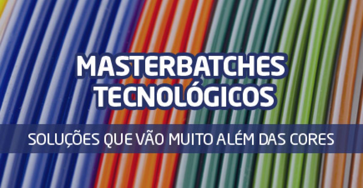 Masterbatches Tecnológicos: muito além das cores