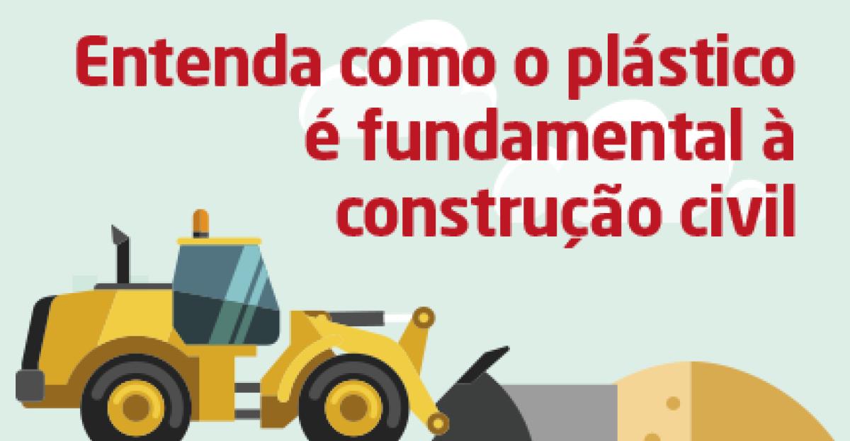 Infográfico: A importância do plástico na construção civil