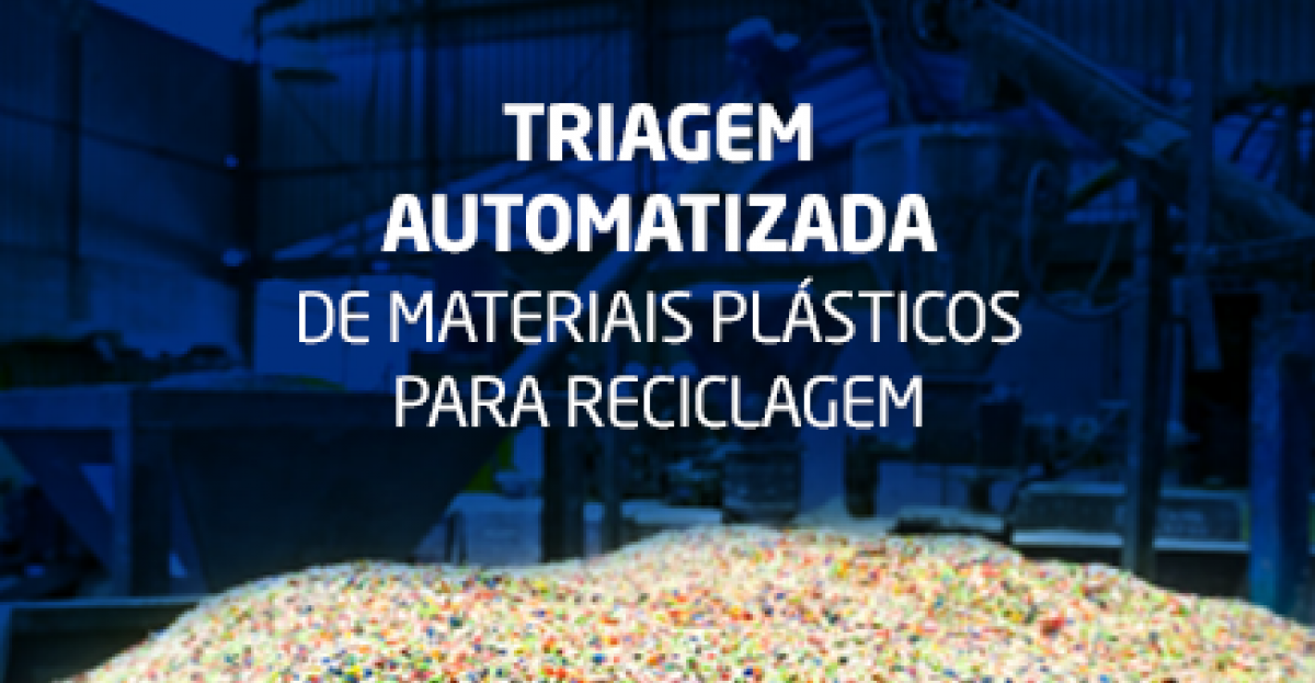 Triagem automatizada de materiais plásticos para reciclagem