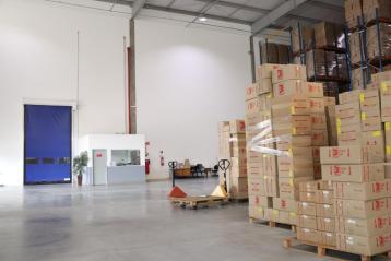 Portas industriais Rayflex - Divulgação