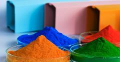 Coloração dos artefatos de borracha
