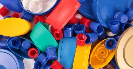 Indústria de reciclagem de plástico