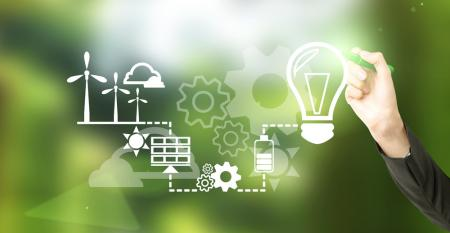 Fontes de energia alternativas para a indústria; confira