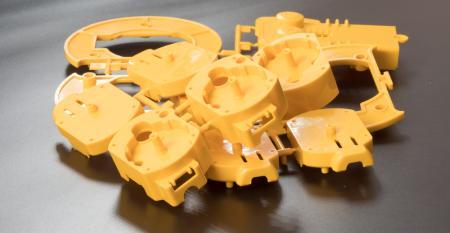 Soldagem plástica de peças complexas